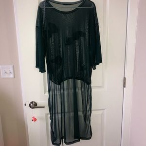 Zara Dresses - Zara Appliqué Sheer Dress